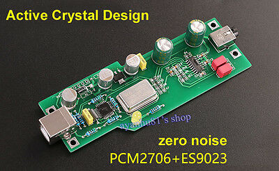 PCM2706 + ES9023 Fever-Level Audio DAC Sound Card Decoder Board Expansion Card