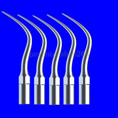 5 Dental Ultrasonic Scaler Perio Tips Compatible with DTE/SATELEC Handpiece PD4