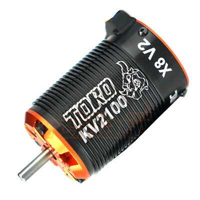 SKYRC TORO X8 V2 6 Pole 2100kv Brushless Motor 1:8 RC Cars Buggy #SK-400010-10