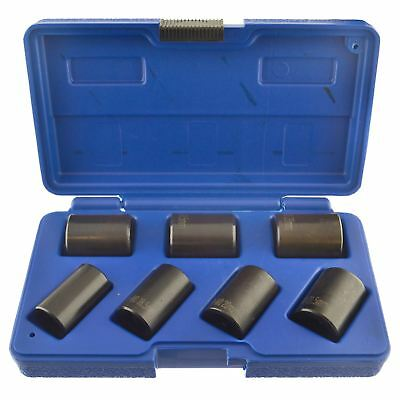 "7pc 1/2"" drive twist socket set wheel lock nut remover removal (IRE) AT136"