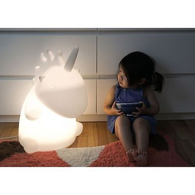Magical Giant Unicorn Soft LED Night Lamp Multi-color Mode Light