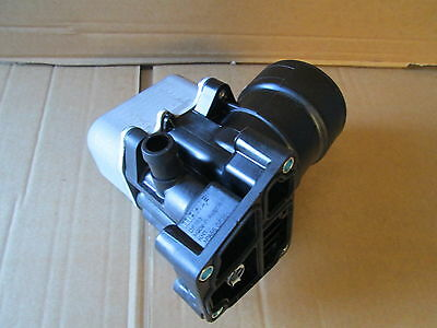 New Genuine Vw Audi 1.6 2.0 Tdi Oil Filter Housing With Oil Cooler 03L117389G