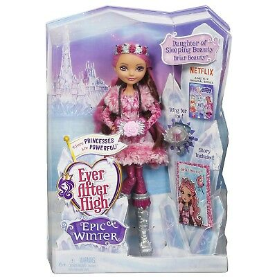 Ever After High Epic Winter Princess Briar Beauty Kids Girls Doll Accessories