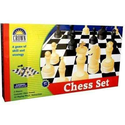 Chess Set - Crown Free Shipping!