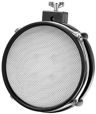 "8"" Mesh Pad Mesh Head E-Drum Pad Dual Zone Pad Gewebe Fell Rim Shot Funktion"