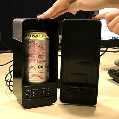 USB Powered Fridge - Micro Mini Refrigerator - Desk Top/Office Gift