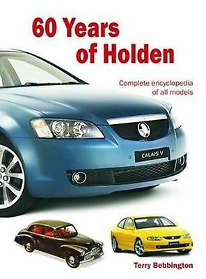 60 Years of Holden by Terry Bebbington Hardcover Book