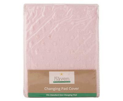 Little Haven Changing Pad Cover (Pink)