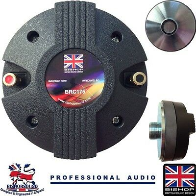 Compression Driver Tweeter Horn Hf 34Mm 100W 44Mm V/coil Peavey Hisys Compatible