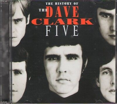 THE HISTORY OF DAVE CLARK FIVE 2 CD+GIFT 50 Tracks Jewel Case 36 Page Booklet