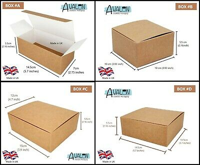 Gift Boxes Self Assembly Gift Box Giftboxes Jewellery Fudge Birthday MADE IN UK