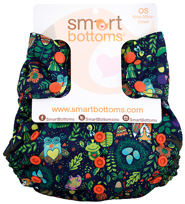 Enchanted - Too Smart Cover By Smart Bottoms - Cloth Diaper Cover