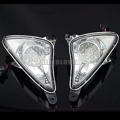 Front LED Turn Signal Indicator Light For Yamaha T-MAX XP500 2001-2007 #2 Colors