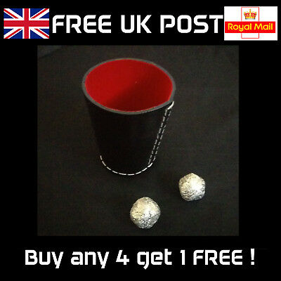 Leather Chop Cup - Professional Close-Up Magic Trick -NEW