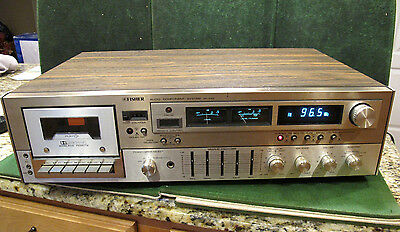 Vintage Fisher Mc 4155 Audio Component System