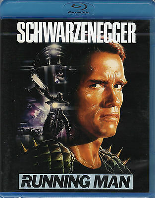 The Running Man , 100% uncut , Blu_Ray , new and sealed , Schwarzenegger