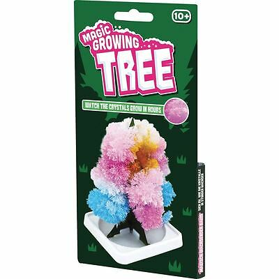 Tobar Magic Growing Crystal Tree Novelty Science Educational Learning Toy New