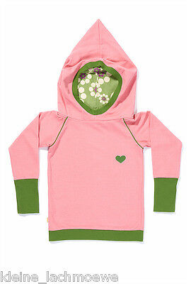 Albababy albakid Casey hood blouse Retro Mode Hoodie Pullover rose 92 + 98 NEU
