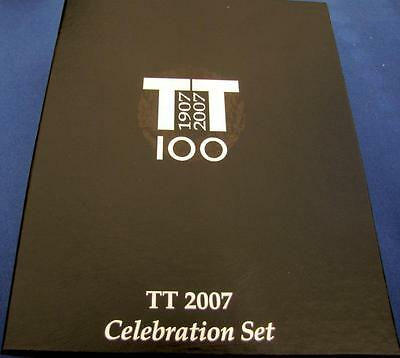 Isle of Man Manx TT 2007 Centenary celebration collectors set. Very rare!!