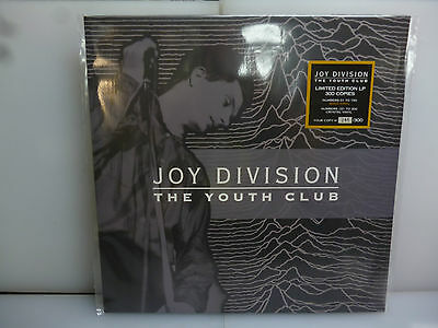 Joy Division-The Youth Club. Altrincham, Uk 1979.-Crystal Vinyl Lp-New.sealed