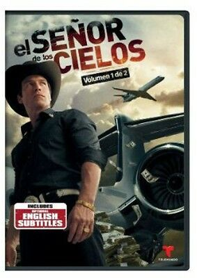 El Senor De Los Cielos: Vol. 1 - 6 DISC SET (2014, DVD NEW)
