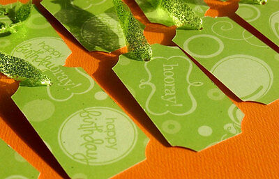 Happy Birthday - Party Gift Tags