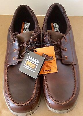 Timberland Pro Series Bryson Men's Shoe Brown 14 M/M Lace Up New In The Box