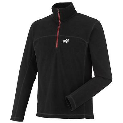 Sous pull micropolaire chaud Millet Vector grid po zip nr Noir 13391 - Neuf