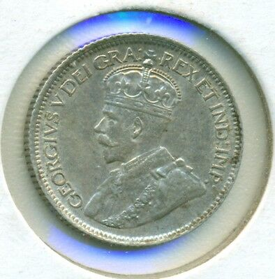 1929 Canada Silver Ten Cents, Nice Brilliant Uncirculated, Great Price!