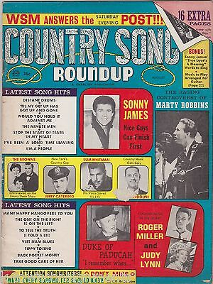 Sonny James Judy Lynn & More Vintage Country Song Roundup Music Magazine 1966