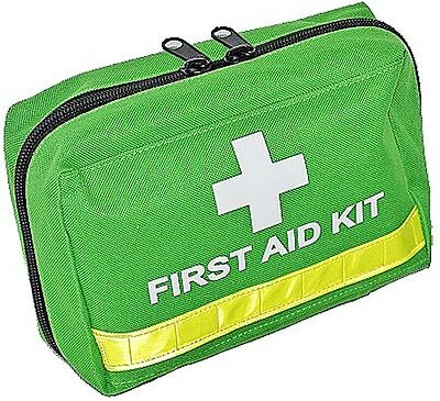 FIRST AID KIT BAG - Green Premium - EMPTY BAG ONLY - NO CONTENTS