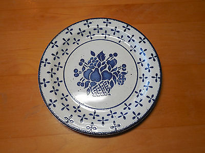 Midwinter England Stonehenge COUNTRY BLUE Set of 5 Bread Plates 7 in
