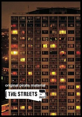 THE STREETS Original Pirate Material PHOTO Print POSTER Band Mike Skinner CD 002