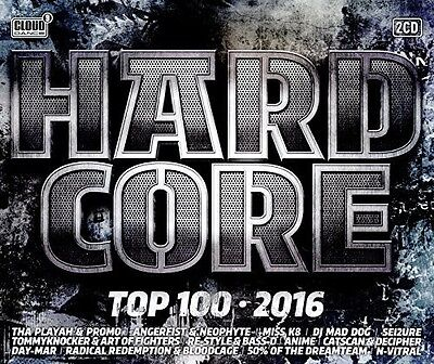 Various Artists - Hardcore Top 100: 2016 / Various [New CD] Holland - Import
