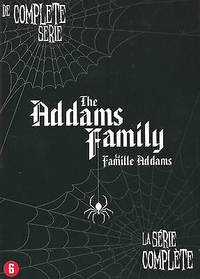 The Addams Family : Complete Serie (9 DVD)