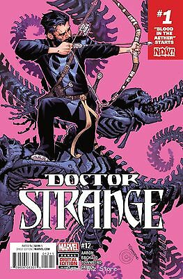 Doctor Strange #12 (2016) 1St Printing Bagged & Boarded Marvel Comics