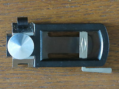 L Pisoni Alto Saxophone Reed Cutter A Professional Vintage Classic  In Ex-Cond