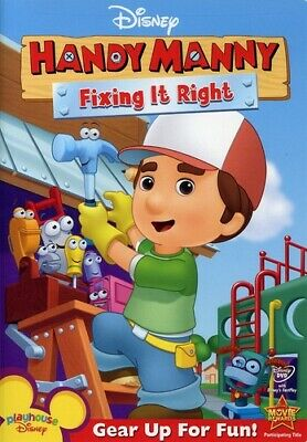Handy Manny: Fixing It Right (2008, DVD NEW)