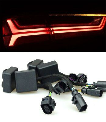 Adapter LED Facelift Tail Lights dynamic Indicator #5 for Audi A6 4G C7 Avant