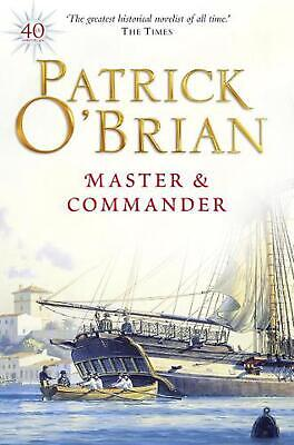 Master and Commander by Patrick O'Brian (English) Paperback Book Free Shipping!