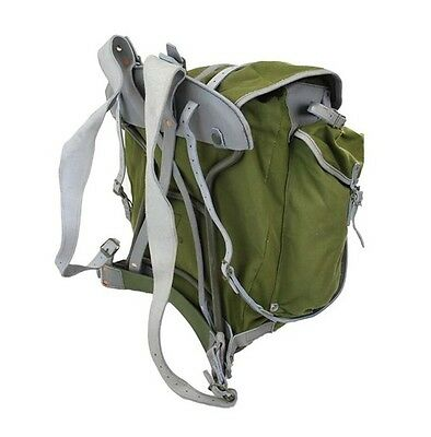 Authentic Norwegian army backpack rucksack bag military metal frame mountain