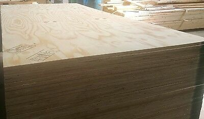 £20 Per Sheet 2.44m x 1.22m x 12mm Exterior Grade wbp Softwood Ply Good Quality