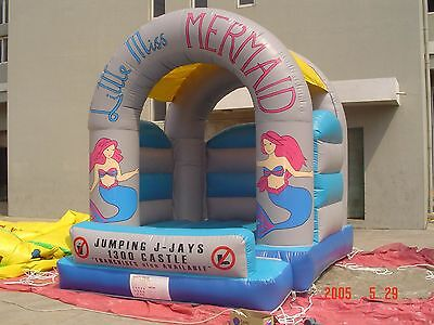 MASSIVE JUMPING CASTLE SALE - 4mx4m Castle - Mermaid Theme ** Commercial ** USED