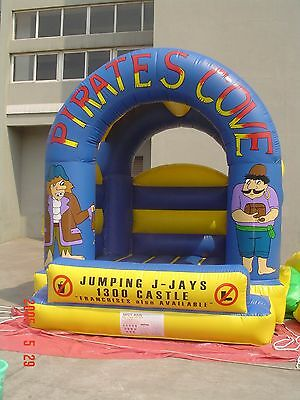 MASSIVE JUMPING CASTLE SALE - 4mx4m Castle - Pirate Theme ** Commercial ** USED