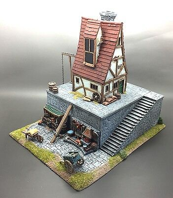 Warhammer Fantasy Age Of Sigmar Kings Of War Scenery Terrain Dwarf Forge Anvil