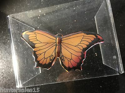 Rare BUTTERFLY CLIP figurine Gold and black  Royal Doulton England 1920's