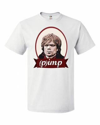 Mens Tyrion Imp Pimp Tshirt Funny Game Of Thrones Lannister T shirt