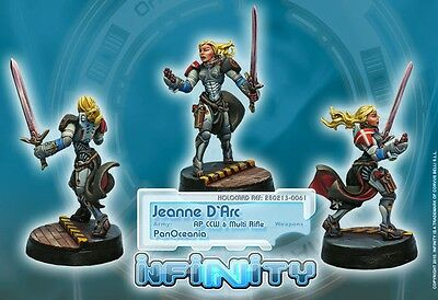 Infinity PanOceania Jeanne D'Arc AP CCW Multi Rifle Special Character CVB 280213