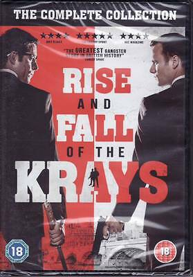 Rise And Fall Of The Krays [DVD]  - Brand New & Sealed