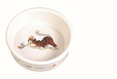 New Trixie Ceramic Food / Water Cat Bowl - 4007